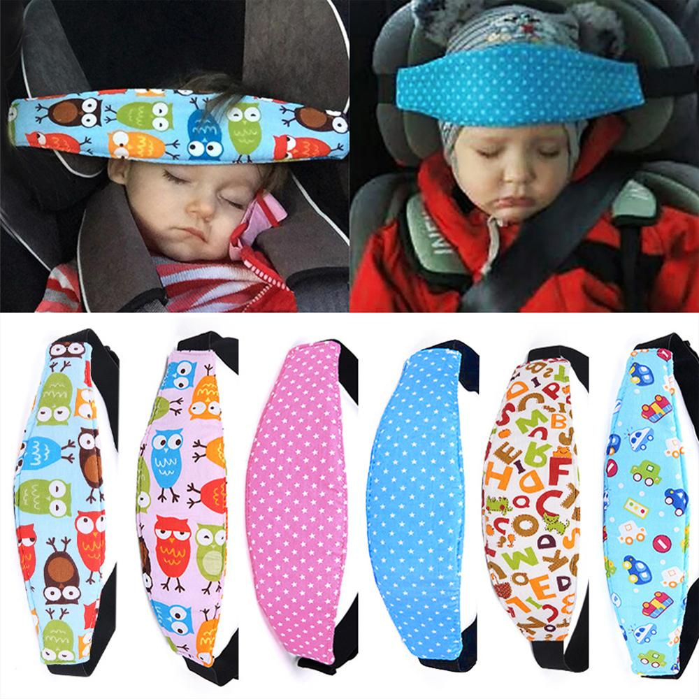 Baby Car Safety Seat Sleep Positioner Infants And Toddler Head Support Pram Kids Adjustable Fastenin