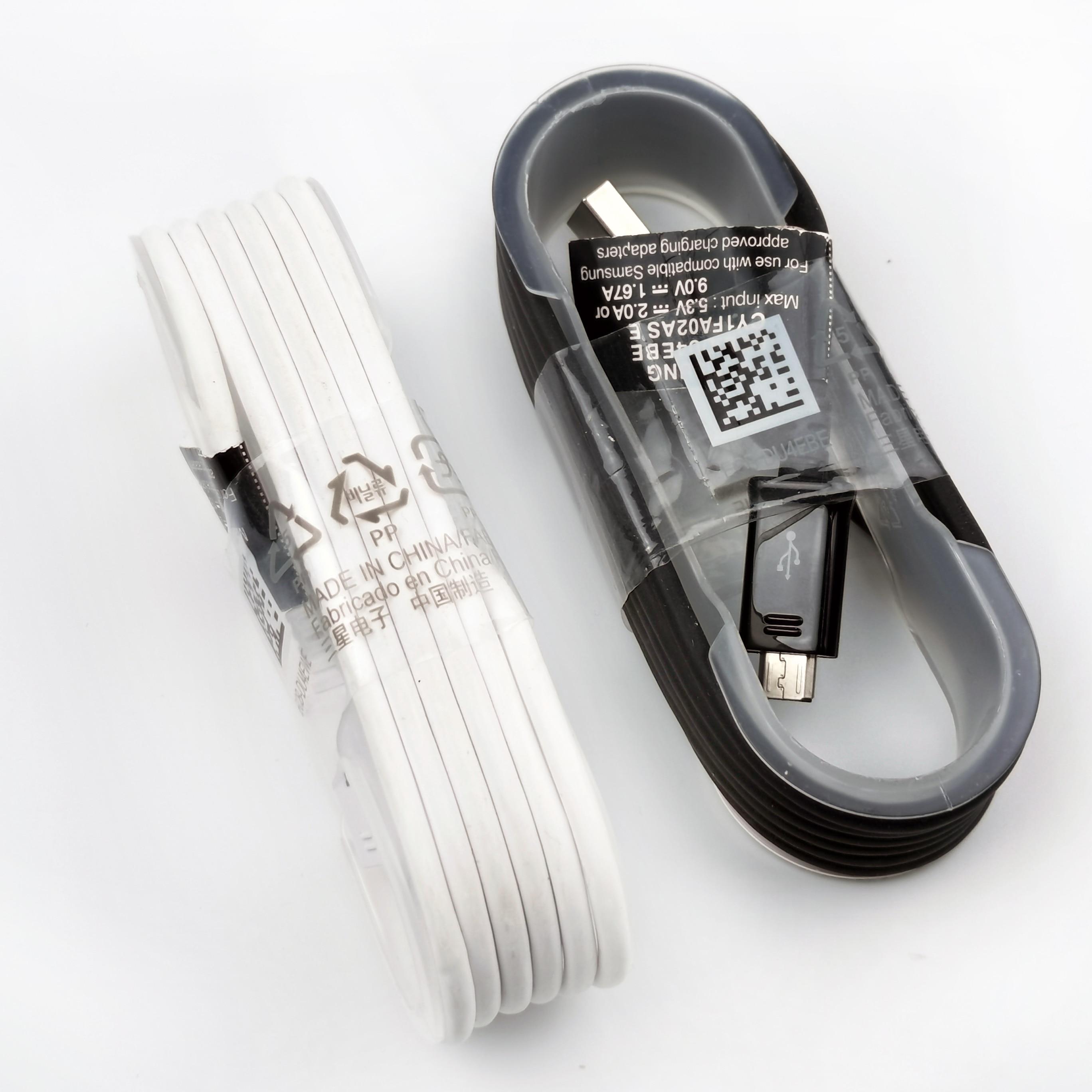 Samsung-Cable de carga Micro usb Original, línea de datos de carga de...