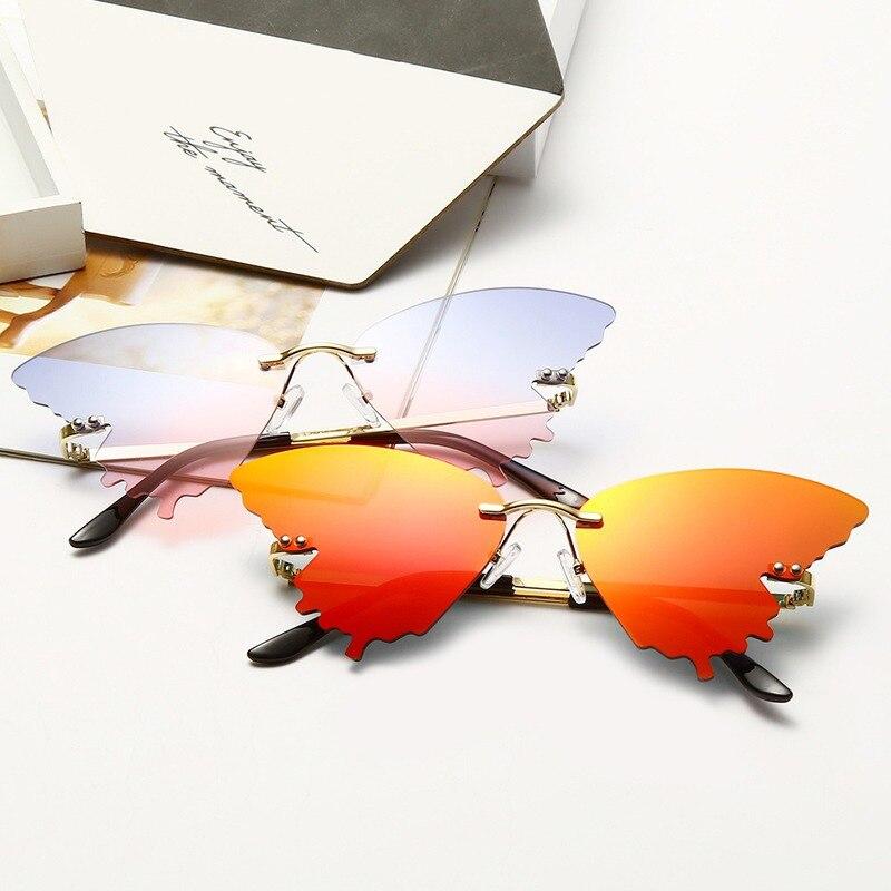 Modernas Gafas De Sol De lujo con forma De mariposa, Gafas De Sol Vintage 2020 degradadas, Gafas De Sol con alas, Gafas para mujer Uv400, Gafas De Sol
