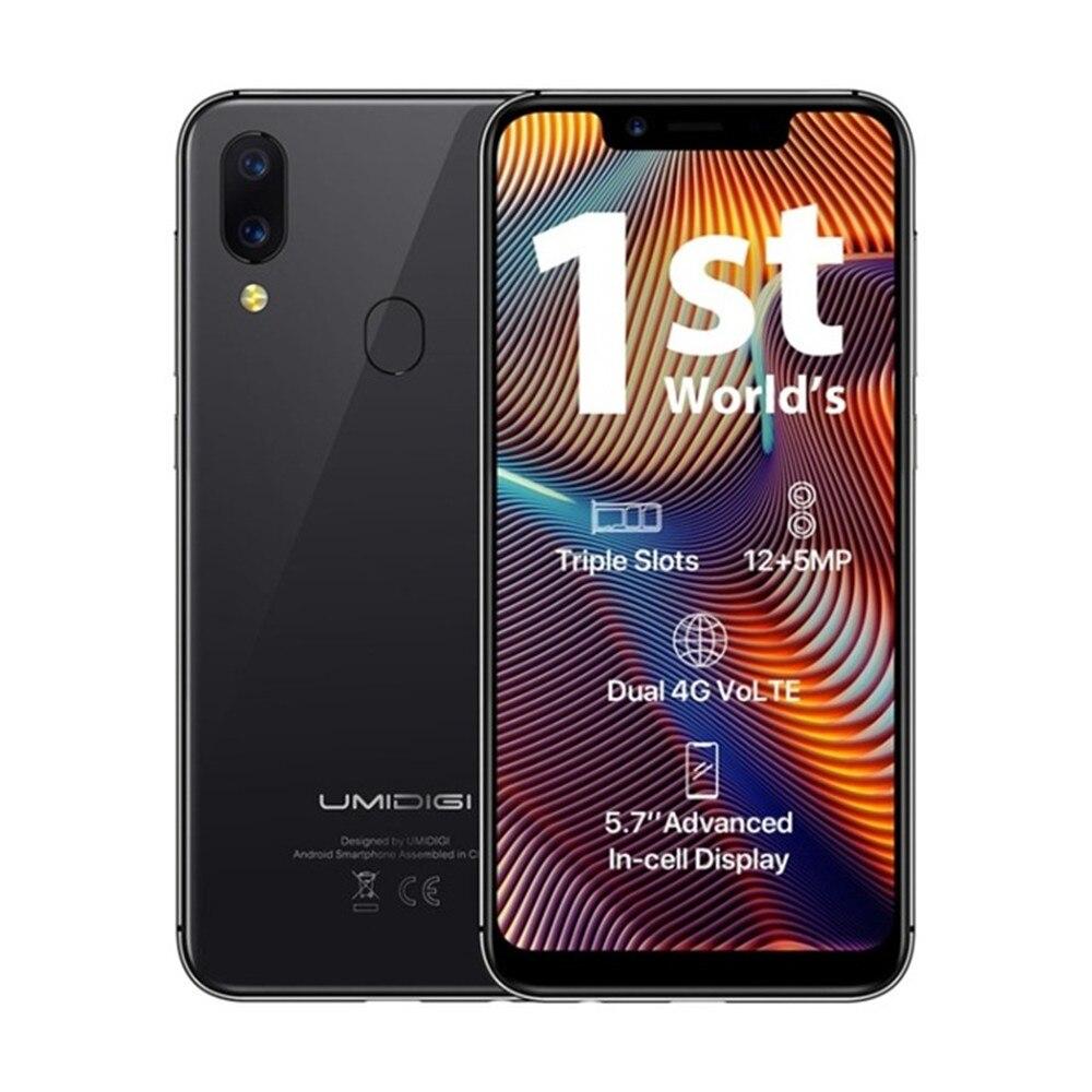 Перейти на Алиэкспресс и купить UMIDIGI A3 Pro смартфон, 3 Гб оперативной памяти, Оперативная память 32GB Встроенная память глобальная лента 5,7 ''19:9 полный Экран Android 8,1 MT6739 12MP Dual Core 4 а...