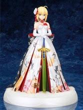 Modifier le destin Grand ordre sabre Arturia Kimono Ver. Figurine en PVC animé Arutoria Pendoragon robe de mariée Collection jouet 25.5CM
