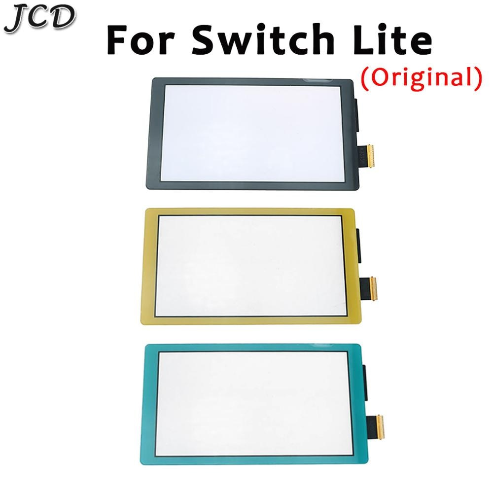 JCD Original LCD Display Touch Screen for Nintendo Switch Lite Touch screen Digitizer for Switch NS Cover Panel Game Console