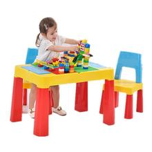 Mesa De estudio para escritorios, juego De plástico para niños pequeños, Mesa infantil para niños