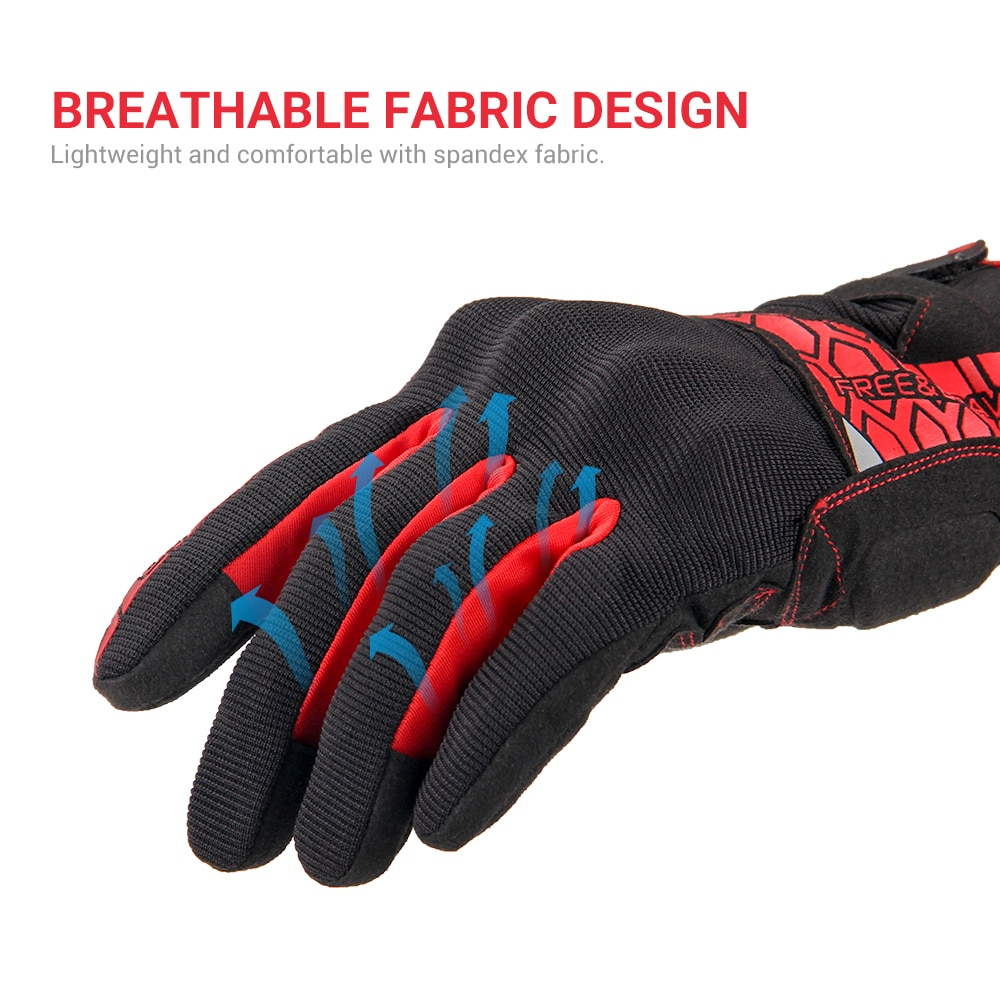 Motorcycle Gloves Touch Screen Moto Gloves Summer Motocross Gloves Breathable Motorbike Racing Riding Gloves Guantes Moto M-2XL enlarge