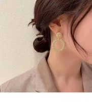 earrings new tide stud earrings in europe and the exaggerated earrings female wind restoring ancient ways ear ring