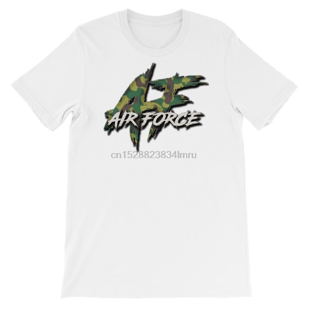 2019 la última camiseta de hombre de moda impresa camiseta hombres Estados Unidos Air Force Camo Large N Rugged Logotshirts (1)