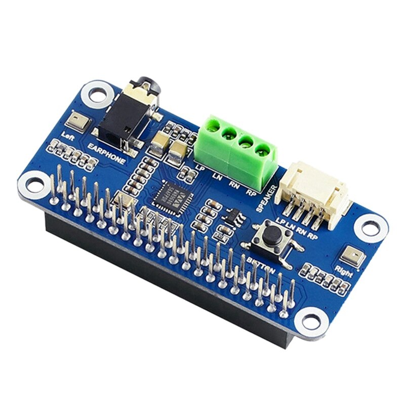 WM8960 وحدة صوت لوح تمديد ل Raspberry Pi 4/3B + ، ستيريو الترميز المتكلم مع مكبر صوت صغير