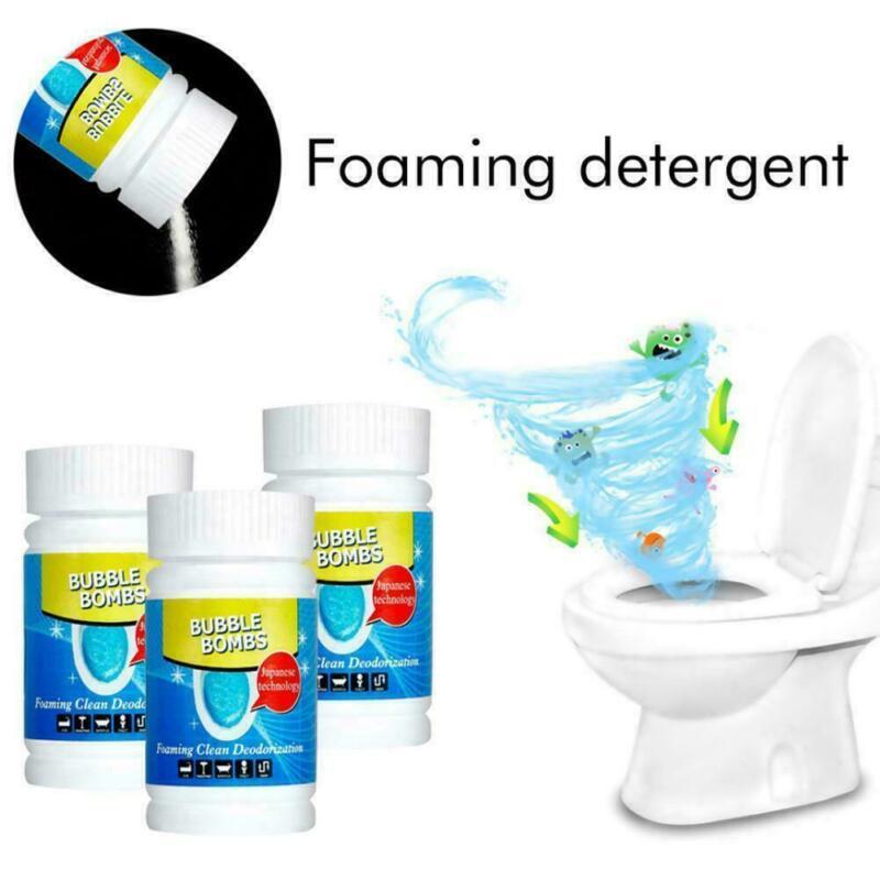 Rápida espuma líquido de limpeza do banheiro magia bolha bombas toalete máquina lavar roupa poderosa pia piso telha casa suprimentos limpeza