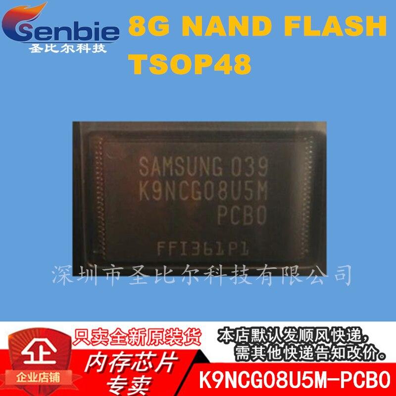 New10piece K9NCG08U5M-PCB0 8G NAND FLASH TSOP48 de circuitos integrados de memoria