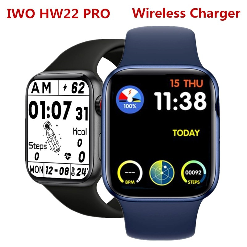 Smart Watch HW22PRO Smart Watch for Men Women Heart Rate Supervise Blood Pressure Watch for Android