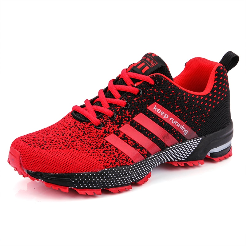 New 2021 Men Running Shoes Breathable Outdoor Sports Shoes Lightweight Sneakers for Women Comfortable Athletic Training Footwear rax men running shoes lightweight 2019 new style breathable gym running shoes outdoor sports sneakers for man tourism shoes