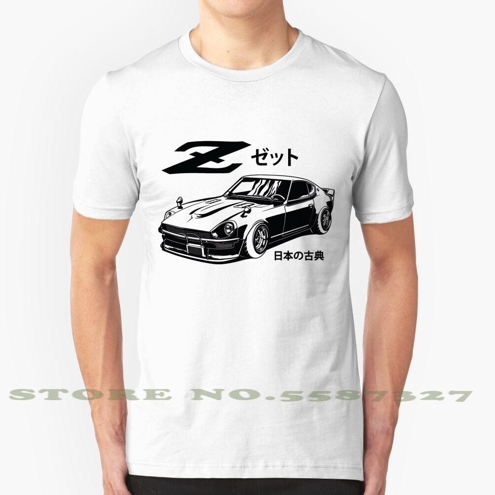 Zetto черная летняя забавная футболка для мужчин и женщин Nissan Datsun Zetto 240Z 260Z 280Z Классическая японская автомобильная культура