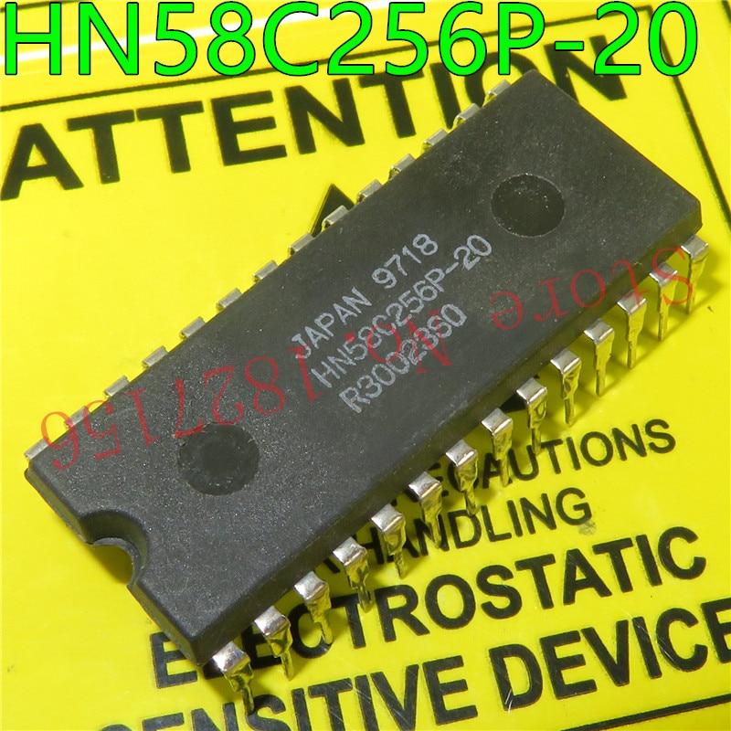 1PCS HN58C256P-20 HN58C256 DIP28