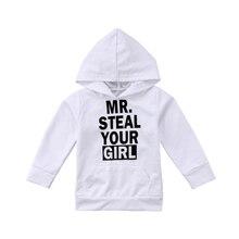 Mr. Voler votre fille bébé garçons filles à capuche hauts enfant en bas âge pull à capuche sweat-shirt vêtements dextérieur