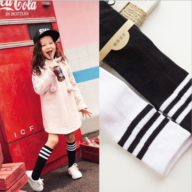 baby girls boutique clothing girls kid back to school outfits girls car camper school clothing with pink ruffle shorts with bows girls socks with bows Spring Autumn Winter Cotton  Children Breathable Socks Solid Baby Girls Knee Socks School