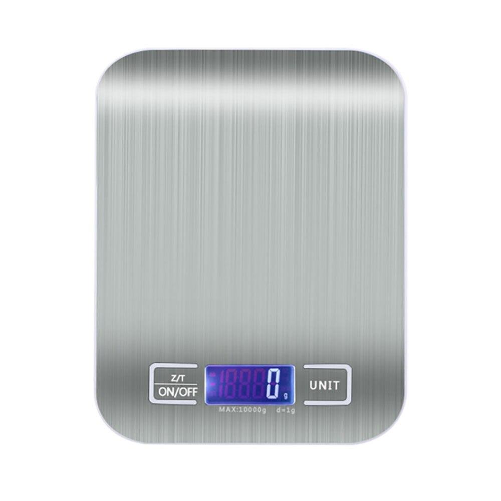 ميزان المطبخ الرقمي الفولاذ المقاوم للصدأ مقياس المطبخ الرقمي 10 كجم/5 كجم ميزان المطبخ الدقة s الرقمية الوزن غرام و أوقية ، مل ، Lboz