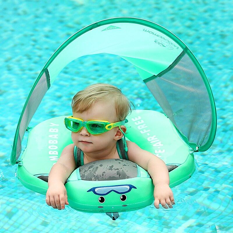 2021 Niet-Opblaasbare Pasgeboren Baby Zwemmen Float Ring Liggen Flots Bad Zwembad Speelgoed Bad Swim Trainer Voor Baby Zwemmers upgrade float voor baby taille zwemmen ring zwemmen trainer leven vest niet opblaasbare praalwagens speelgoed met verstelbare