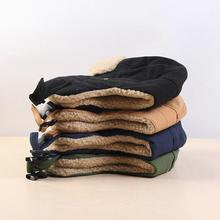 Thickened  Useful Unisex Ear Flap Winter Bomber Hat Cotton Bomber Hats Soft   for Hunting