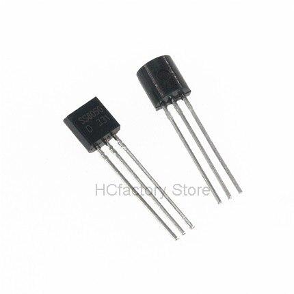 Новый оригинальный 100 шт. 50 шт. SS8050 + 50 шт. SS8550 транзистор NPN PNP TO-92 IC новый оригинальный оптом единый дистрибьютор список