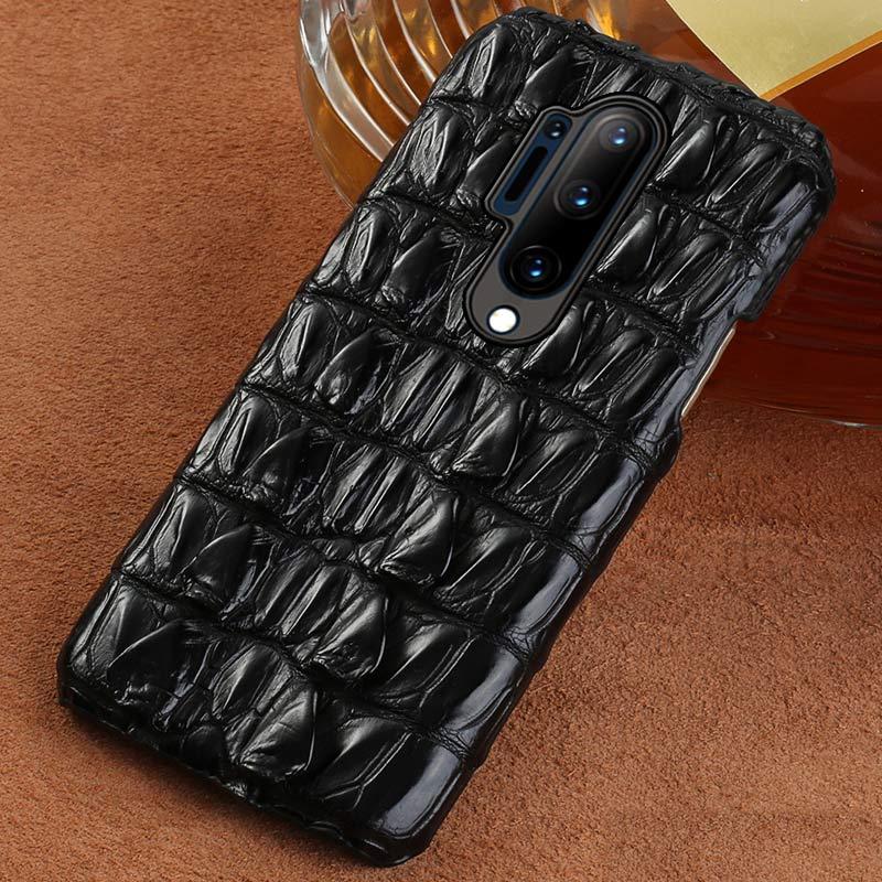 100% funda de teléfono de piel de cocodrilo Original para Oneplus 8 Pro 7T 7 Pro 6T 5 5T Nord 6T funda de lujo para One Plus 8Pro 7pro Nord