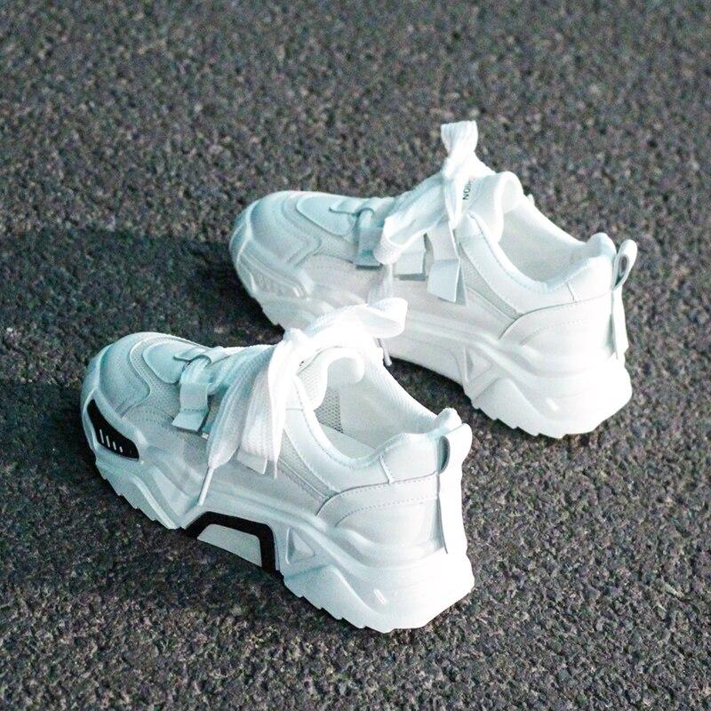 True Sneakers Fashion Women Vulcanize Shoes Platform Sneakers Designer Womens Platform Sneakers Casual Trainers Women Dad Shoes fashion women men laser bling dad running sneakers female casual shoes male flat platform women sneakers round toe feminino