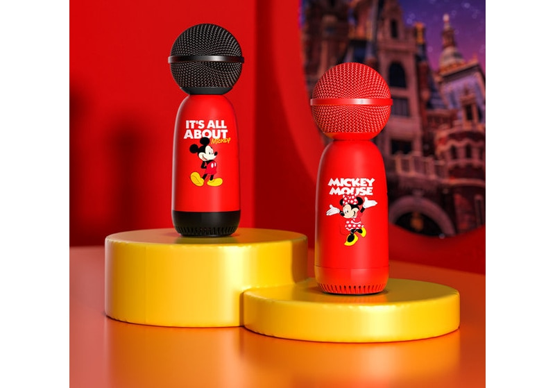 2021Disney Microphone Microphone Speaker Wireless Music Player Family Multifunction 5.0 Bluetooth Audio Mobile Phone Accessories enlarge