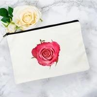 flower cosmetic bag for makeup pouch bags women mini kawaii free shipping woman make up womens handbags travel organizer