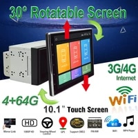 10 1%e2%80%9d car dvd radio stereo 2din android 9 1 multimedia player radio screen video gps with 30 degree and wifi4g bt obd2
