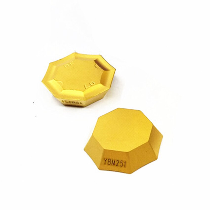 ZCC.CT OFKR0704-DF YBM251 / OFKR0704-DM YBC301 / YBD252 / YBG202 / YBG302 / YBM251 / YBM351 CNC كربيد إدراج 10 قطعة/صندوق