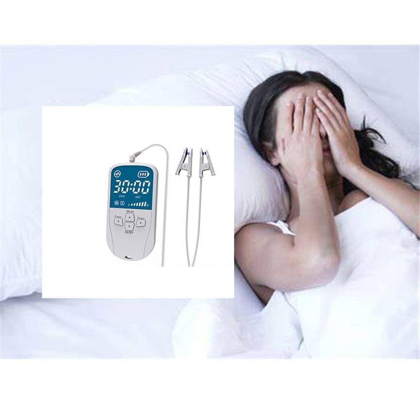 جهاز العلاج الكهربائي بدون أكمام ، جهاز العلاج الطبيعي CES ، الأرق ، مساعد النوم