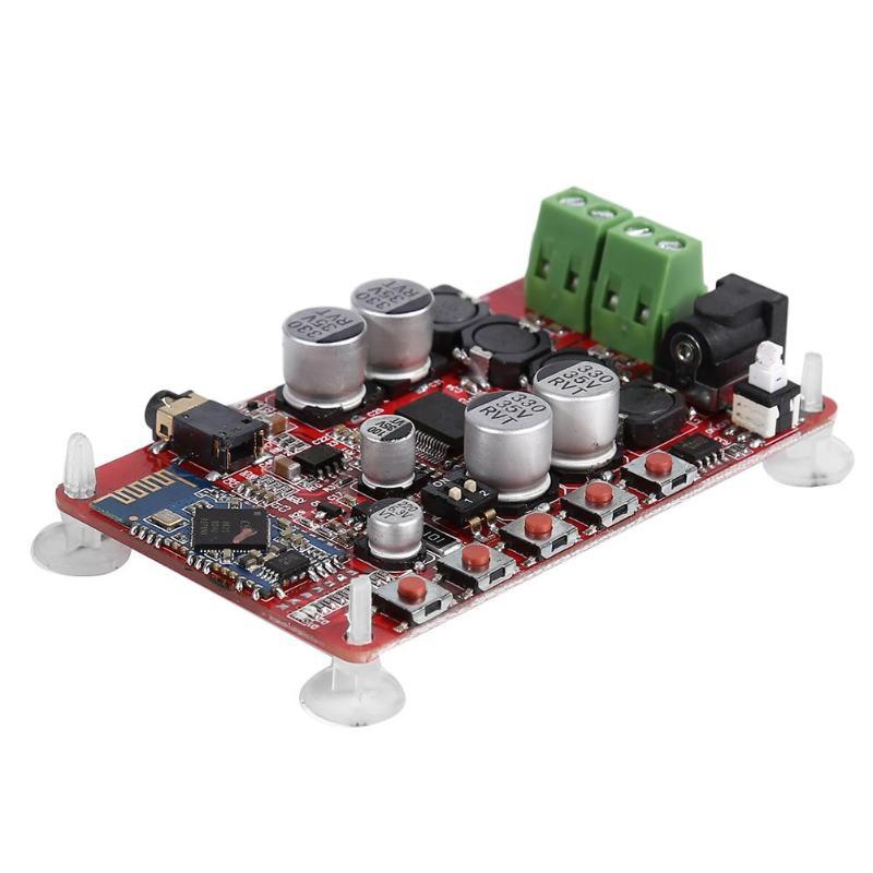 Tda7492p bluetooth 4.0 digital power áudio subwoofer amplificador placa dc 8-25v módulo de amplificador de áudio receptor digital sem fio