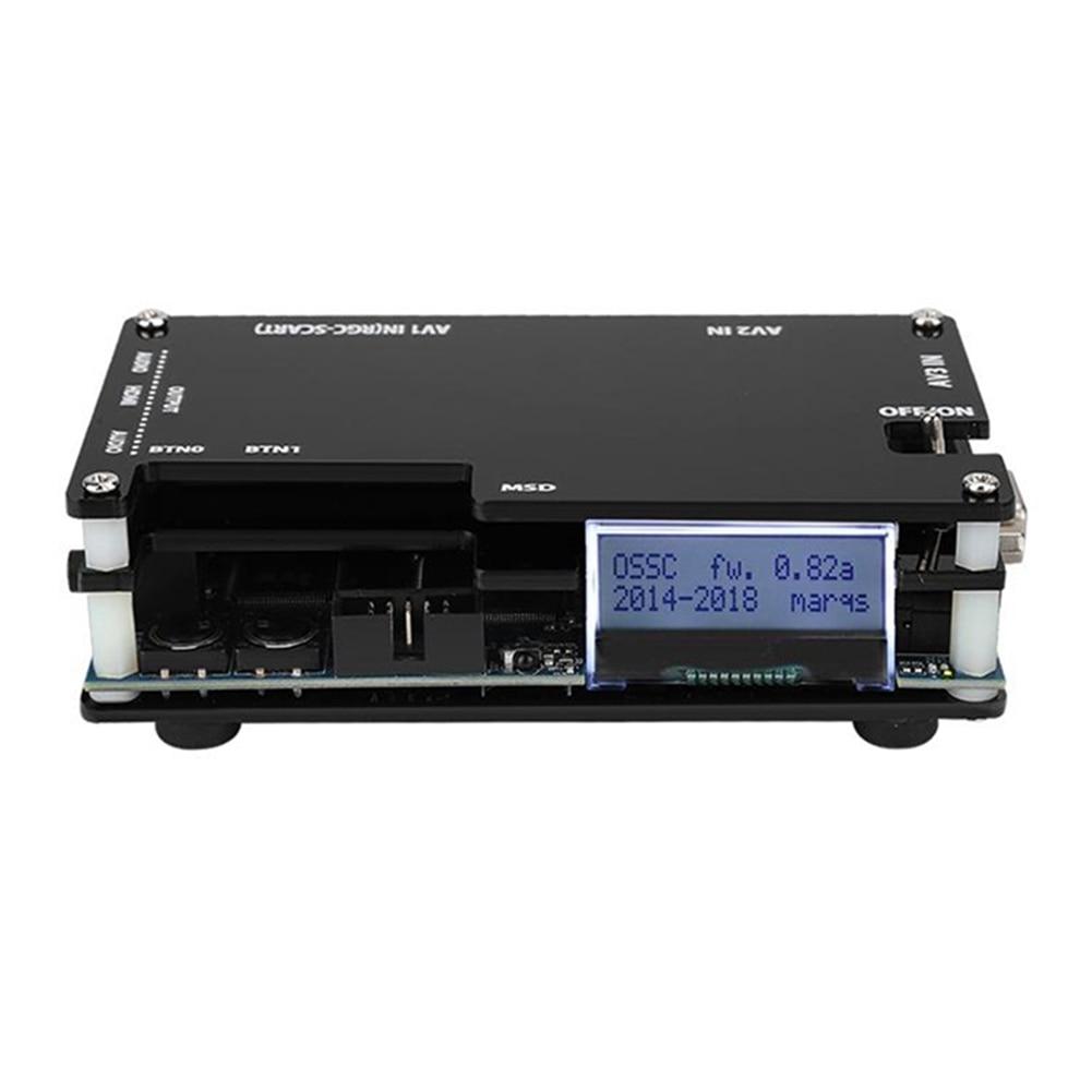 OSSC HDMI-متوافق محول عدة ل ريترو لعبة فيديو وحدة التحكم محول ل بلاي ستيشن 2 1 Xbox Sega Atari AU الولايات المتحدة المملكة المتحدة الاتحاد الأوروبي التوصي...