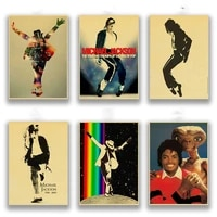 high quality michael jackson vintage posters prints wall painting decor poster wall painting home decoration