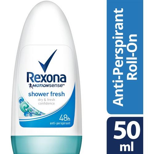 Women's Roll On Deodorant - Rexona Shower Fresh - 50 ml x 2 Pcs недорого