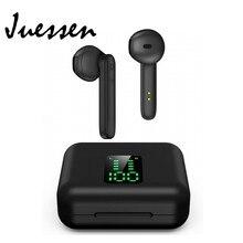 Bluetooth 5.0 sans fil écouteurs dans loreille TWS casque Sport Hi-Fi stéréo anti-transpiration Bluetooth écouteurs buit-in Mic 450mAh boîte
