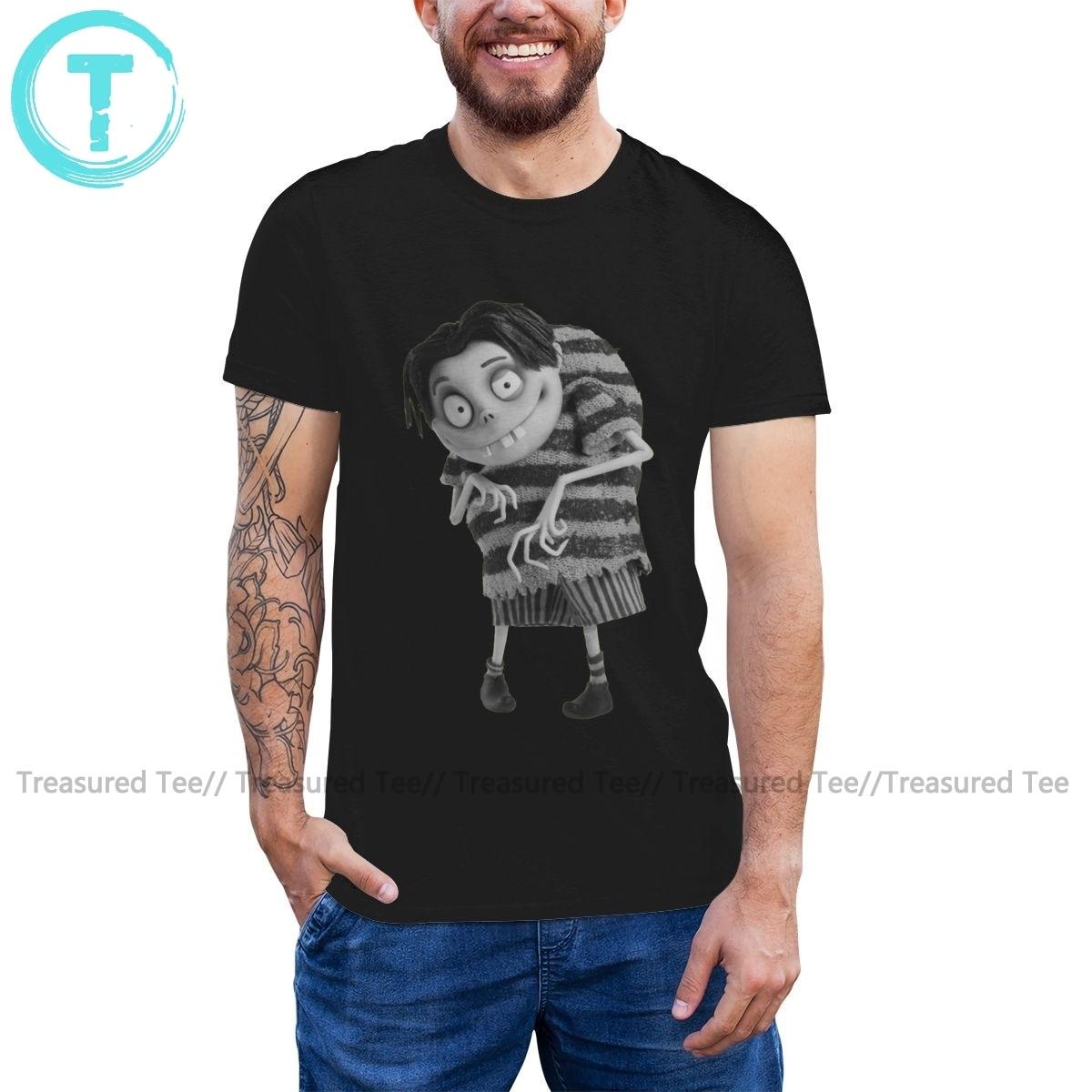 Camiseta de manga corta de algodón con estampado para hombre, Camiseta básica...
