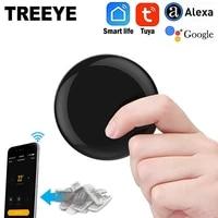 TREEYE     telecommande sans fil IR Blaster  via lapplication Tuya Smart Life  fonctionne avec Alexa Google Home