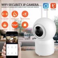 Tuya     camera de Surveillance intelligente IP WiFi hd 2MP 1080P  dispositif de securite sans fil  babyphone video  avec Assistant Google Home et Alexa