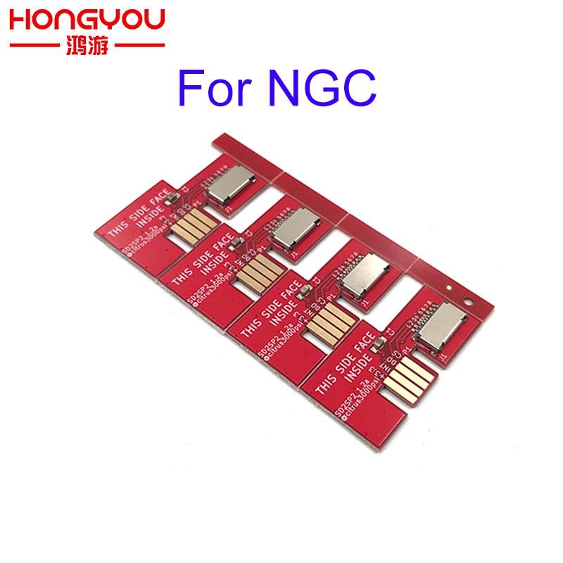 50 قطعة لـ NGC Game Cube SD2SP2 SD Load SDL Micro SD Card قارئ بطاقات TF