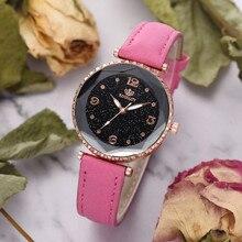 Luxury Watch For Women Women's Quartz Leather Band Strap Watch Analog Wrist Bracelet Bracelet Watche