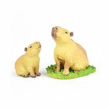 Original Japan Rement Animal Capybara Model Collectible Figurine Figure Toy Kids Gift