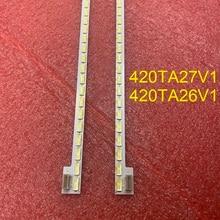 New 2 PCS/set LED backlight strip for 42inch TV 74.42P06.002-3-dx1-l 420TA27V1 420TA26V1 E206580 LB4