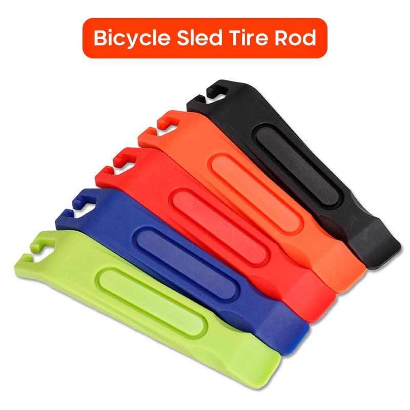 Прут для продольной шины велосипеда универсальный рычаг для шин велосипеда Инструменты для ремонта Открыватель разрыв пластиковый прут для шин велосипедные аксессуары Новинка