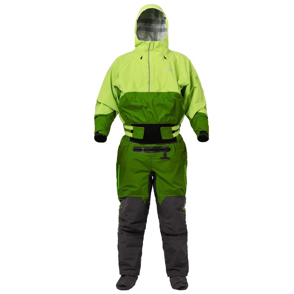 Kayaking Drysuits Swift Entry Front Zip Waterproof Hoodies Surfing Rafting Paddling Jacket