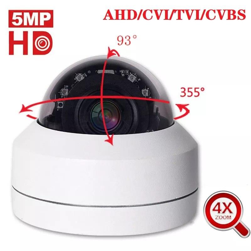 AHD Analog High Definition Surveillance AHD Camera 1080P 5MP AHD CVI TVI CVBS 2MP Security Camera Indoor Outdoor Coaxial RS485