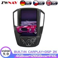android 9 0 4128gb 13 6 tesla style for luxgen u6 2011 2013 car multimedia player auto radio gps navigation system px6 carplay