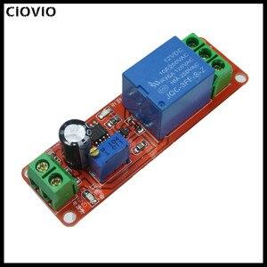 CIOVIO 10pcs NE555 Timer Switch Adjustable Module Time delay relay Module DC 5V / 12V Delay relay shield