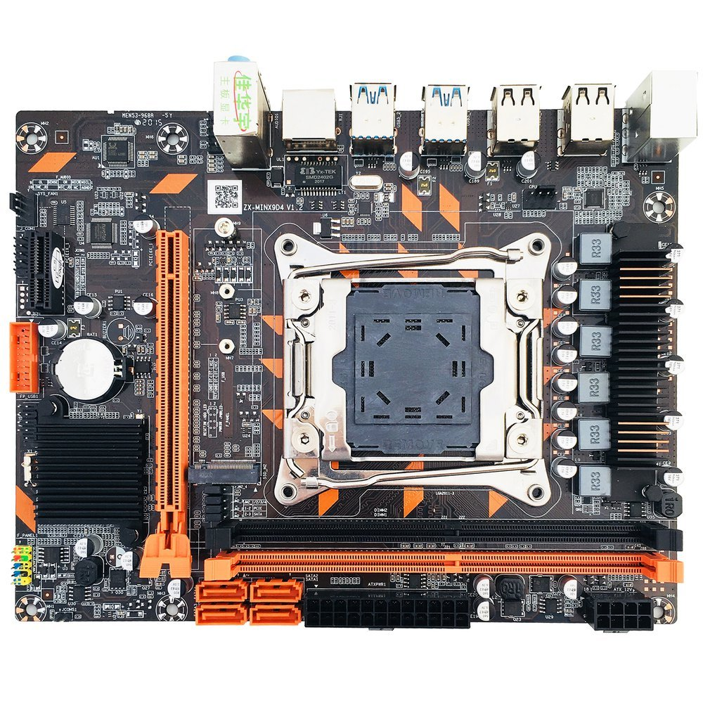 X99 DDR4/X99 DDR3/B75 DDR3 Motherboard Slot LGA2011-3 USB3.0 NVME M.2 SSD Support DDR4 Memory And Xeon E5 V3 Processor D4 RAM