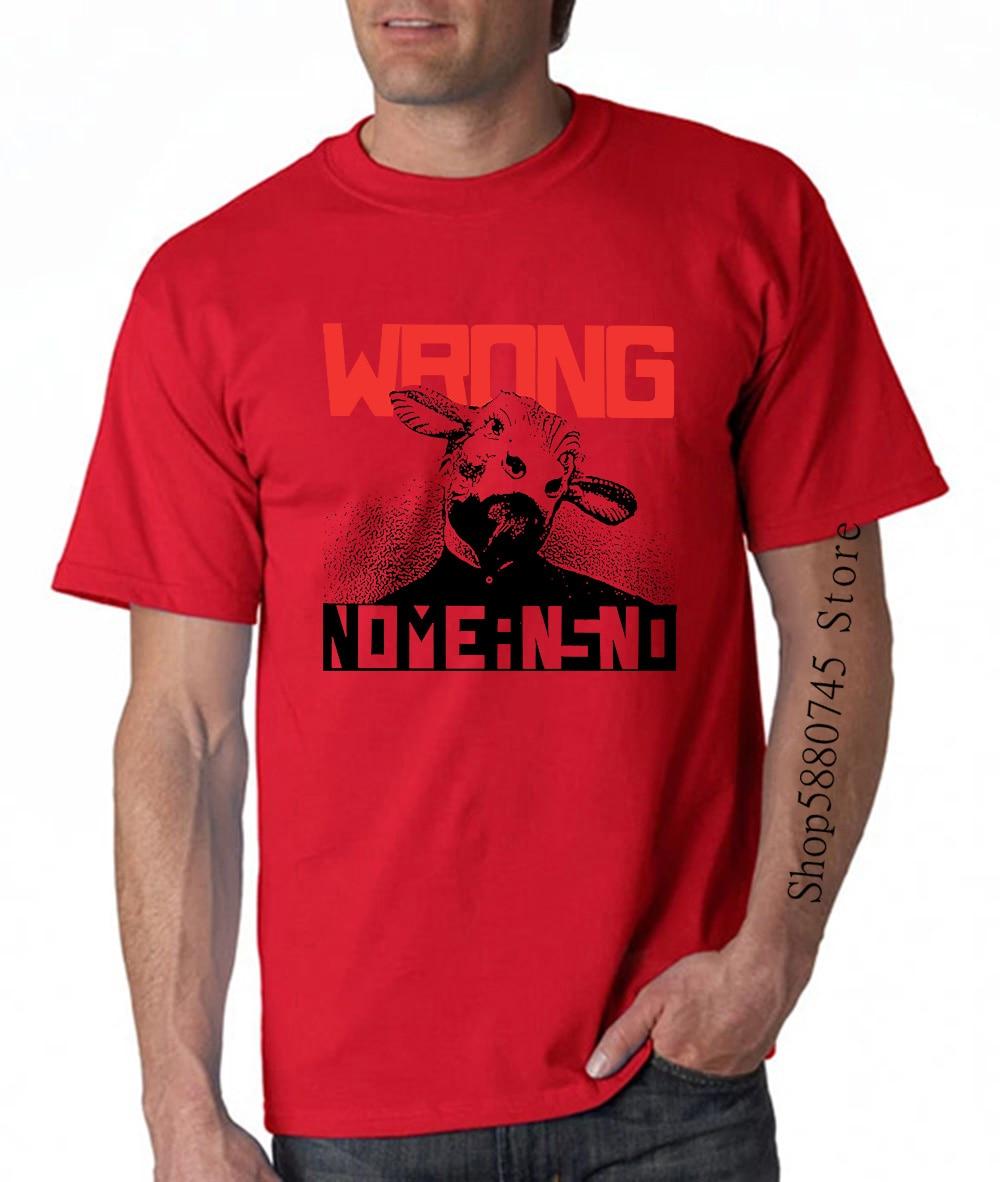 Nomeansno Sai Ao Punk Rock soy Nhac Khong Co Nghia La Khong Co muerto Kennedy manguera V190 T camisa