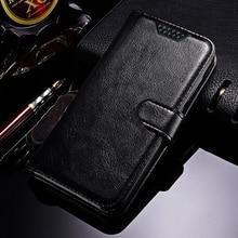 Étui en cuir pour téléphone Vernee Mix 2 portefeuille style coque de protection